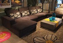 自然舒适组合随意 四季百搭的布艺沙发