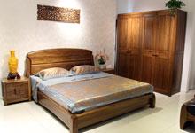 三套现代中式卧室 家具凸显温暖质朴