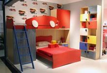 床底空间利用巧妙 超欢乐的儿童床组合