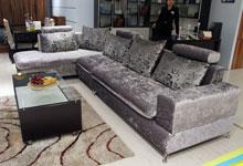 舒适与高性价比 黑马银灰色转角沙发(图)