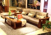 巧选珍贵榆木沙发 轻松提升客厅档次