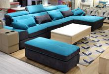 春季巧选客厅布艺沙发 给家换新充满活力