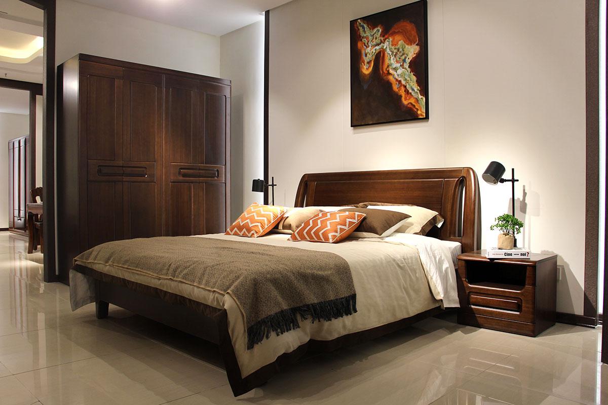 华叶美家卧室家具 享受尊贵的低调生活