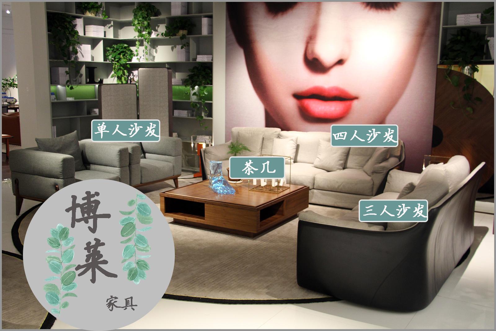 博莱家具让您的客厅洋溢娴静优美的气息