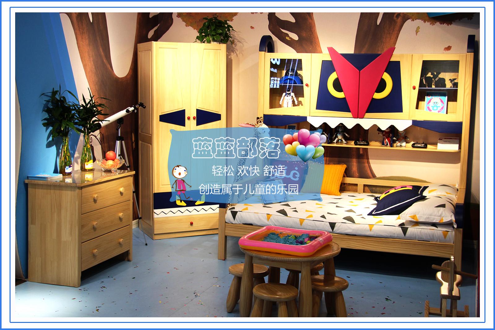 蓝蓝部落儿童家具让孩子健康快乐的成长