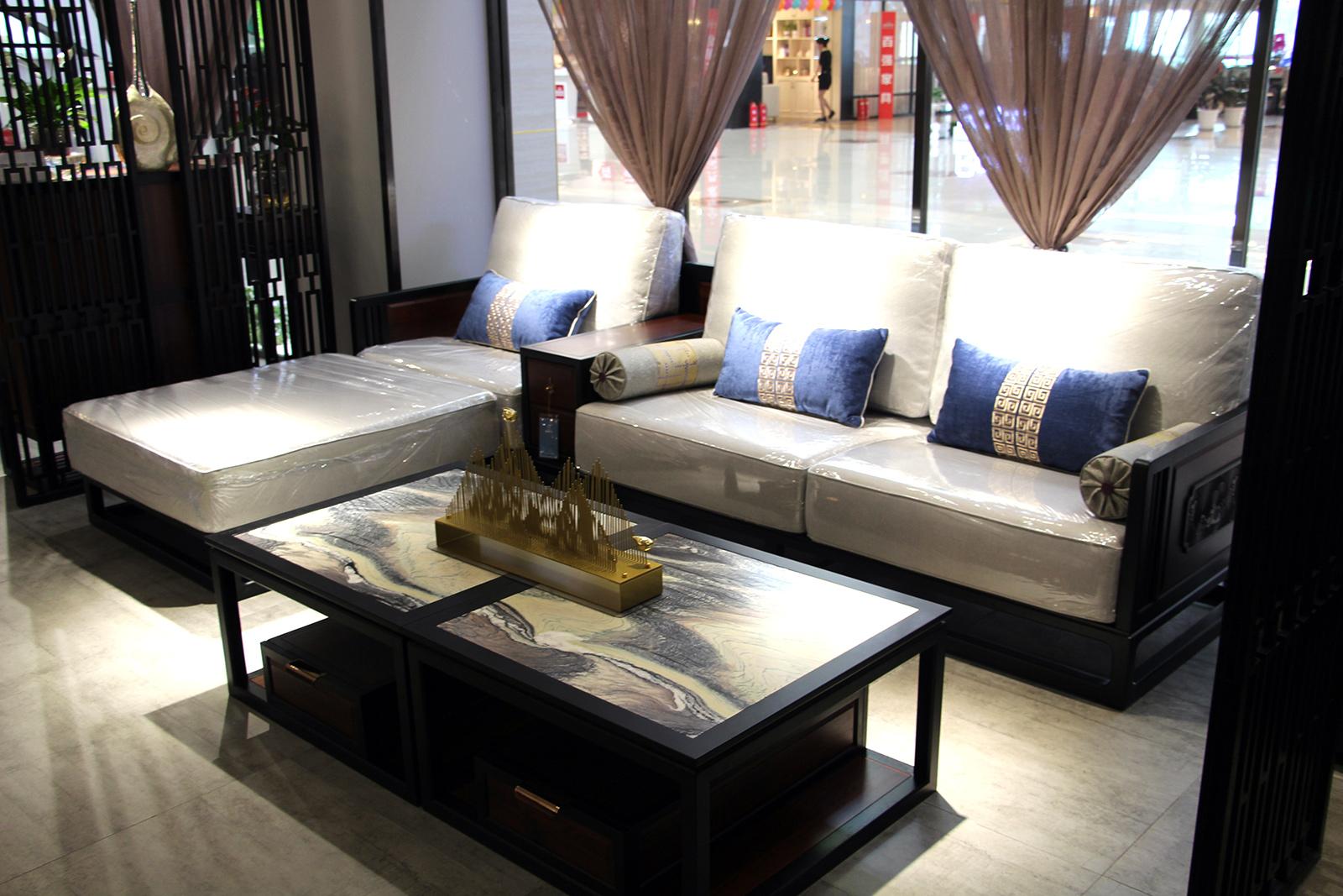 蕴东方品牌方刺猬紫檀转沙发特价26800元