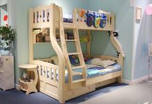 松堡王国松木上下床迎六一儿童节促销8880元