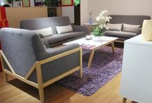 红苹果家具实木布艺组合沙发促销9190元