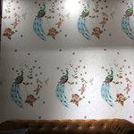 宜然壁布 刺绣 壁布