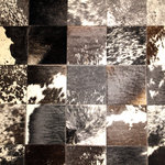 领秀地毯 牛皮地毯