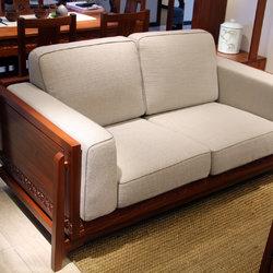 一品木阁 双人沙发