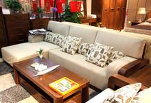 天坛家具榆木转角沙发优惠促销19517元