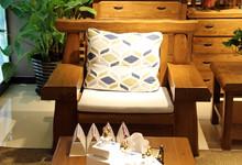 强力家具新店开业 老榆木沙发三件套特惠