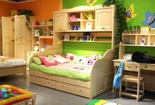 松堡王国芬兰松儿童床 购买立减2358元