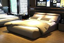 慕思寝具双人床+床垫套餐 特价13000元