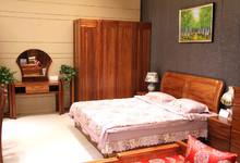 宏达伟业海棠木卧室四件套家具 特价24500元