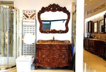 冠军卫浴红橡木定制浴室柜特价 6500元/米