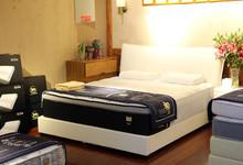 舒达牛皮双人床+床垫套餐 十一特价12999元