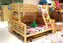 宏达松木儿童家具上下床 十一特价3980元