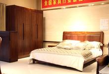 华尚金丝檀实木家具卧室四件套13080元