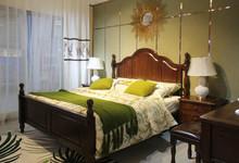 印象北美美式白蜡木大床+床垫特价8800元