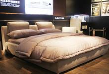 慕思北欧风格布艺双人床 特价11000元