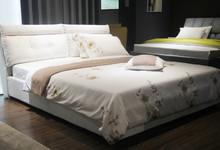 米兰印象现代时尚大床含床垫促销6980元